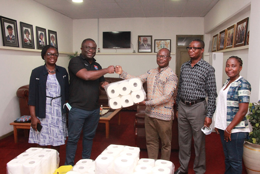 MP for Subin Constituency Donates PPE to Kumasi Technical University